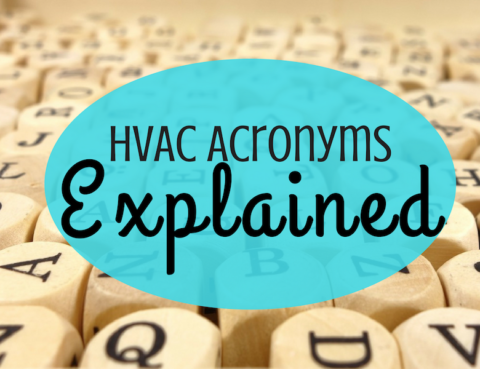 HVAC Acronyms Explained