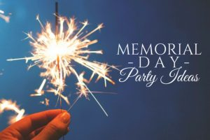 Memorial Day Party Ideas