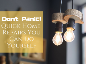 Quick Home Repairs You Can Do Yourself