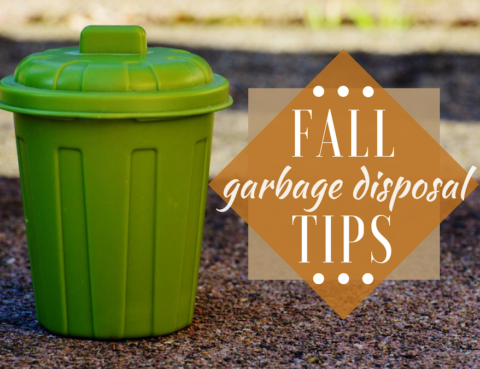 Fall Garbage Disposal Tips