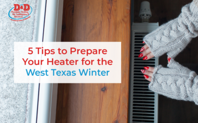 5 Tips to Prepare Your Heater for the West Texas Winter